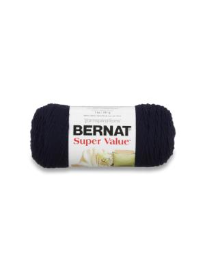 Bernat Super Value Navy Yarn