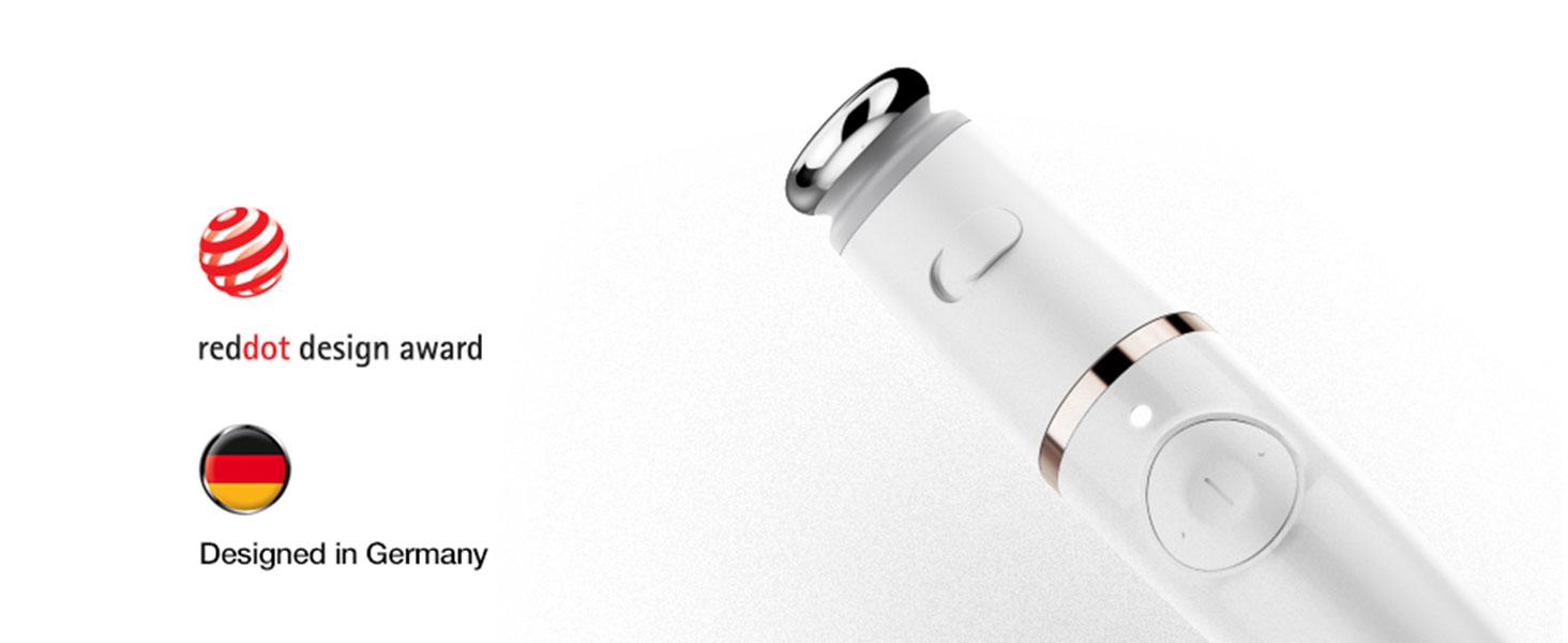 Reddot design award Designed in Germany