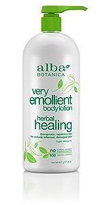 Very Emollient Herbal Healing Body Lotion