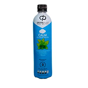 DrinkPlus Drink Plus Calm Te Verde Menta Monk Fruit Stevia Sin Calorias Diabeticos Keto Relajacion