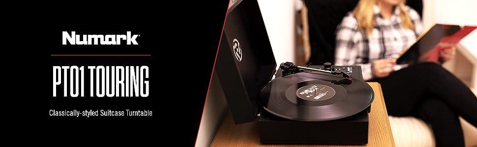 Amazon.com: Numark PT01 Touring | classically-styled veliz ...