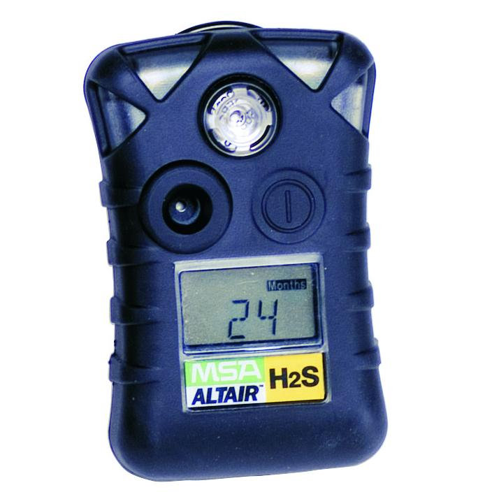 MSA Safety 10092521 ALTAIR Single Gas Detector, Hydrogen Sulfide (H2S), Low Alarm