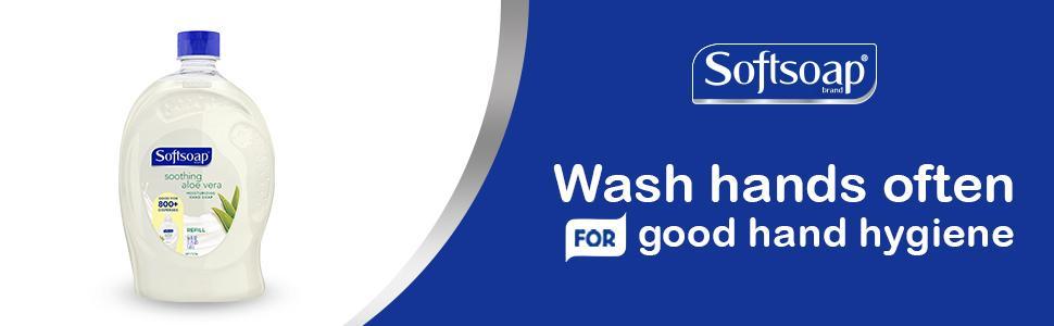 Wash hands often for good hygiene