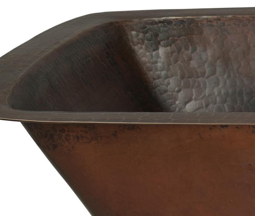 Bar Sink, Undermount, Copper Bar Sinks, Hammered Copper, Novatto, Rustic  Design