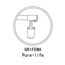 GRIFEMA Dover - Grifo de cocina osmosis, pulverizador de doble función, 3 en 1 para purificador de filtro de agua y fregadero de cocina, Cromo: Amazon.es: Bricolaje y herramientas