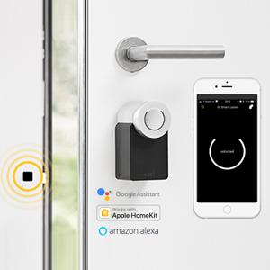 nuki smart lock bridge fob iphone cerradura electrónica smart lock cerradura de puerta digital