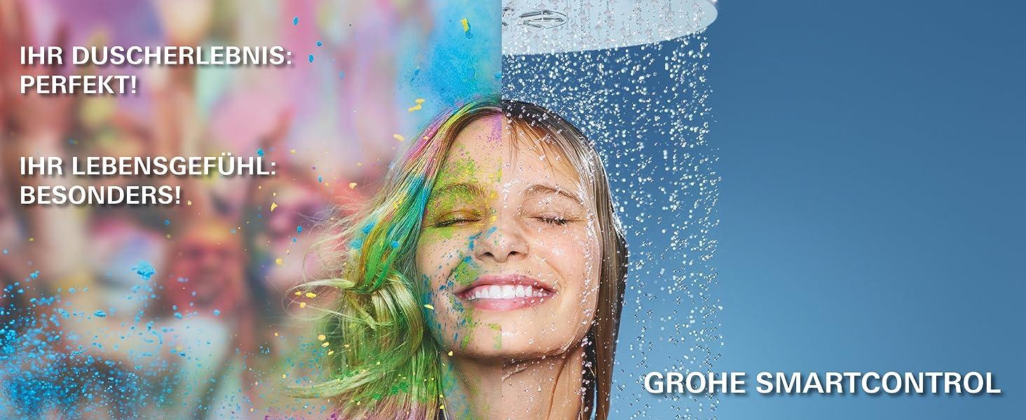 Grohe euphoria hệ thống tắm thông minh điều khiển g4 không tốn kém