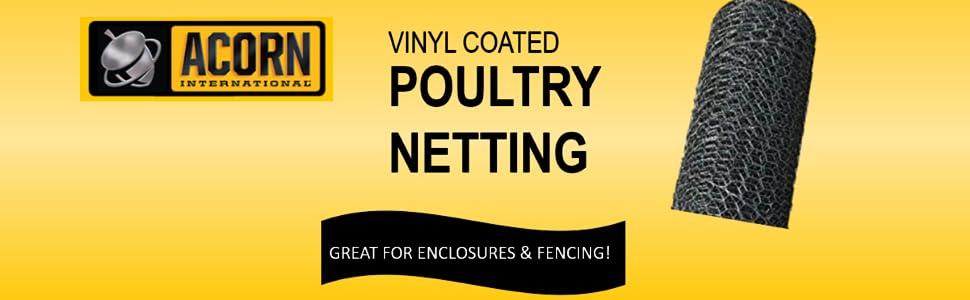 Acorn International PNVC136150 Poultry Netting 1 x 36 x 150