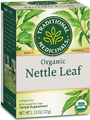Traditional Medicinals Organic Nettle Leaf Herbal Tea