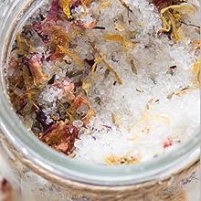 salts and herbs