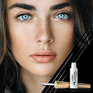 eyelash serum 4 long lashes