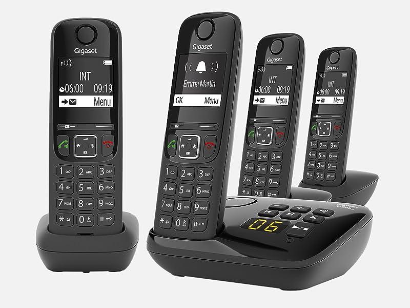 Gigaset As690a Trio 3 Schnurlose Telefone Mit Elektronik