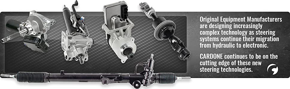 Cardone 23-1815 Remanufactured Domestic Manual Rack and Pinion Unit