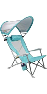 Beach Rocker · Captains Chair · Sunshade Captains Chair · Sunshade Recliner  · Slim Fold Beach Chair