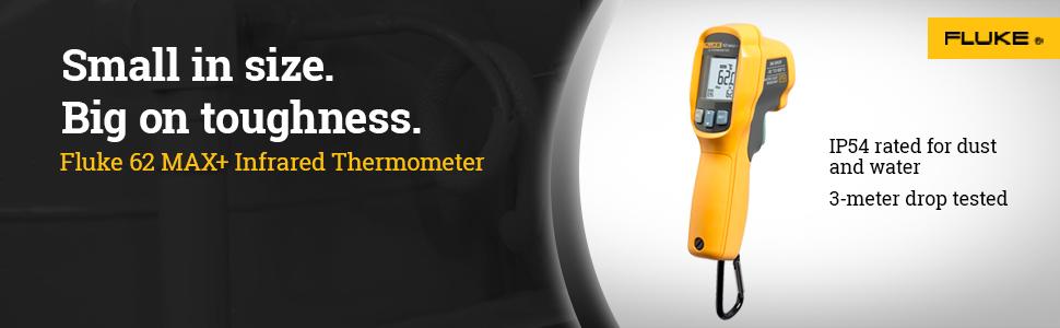 fluke, 62 MAX+, infrared thermometer, temperature, non-contact