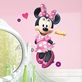 Disney Minnie Bow Tique Peel And Stick Wall Decals Part 48