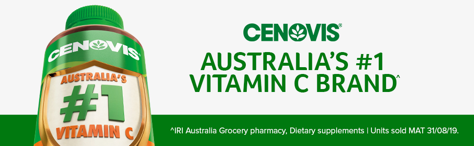 Cenovis; Australia's number 1 Vitamin C; Vitamin C tablets; Vitamin C supplements