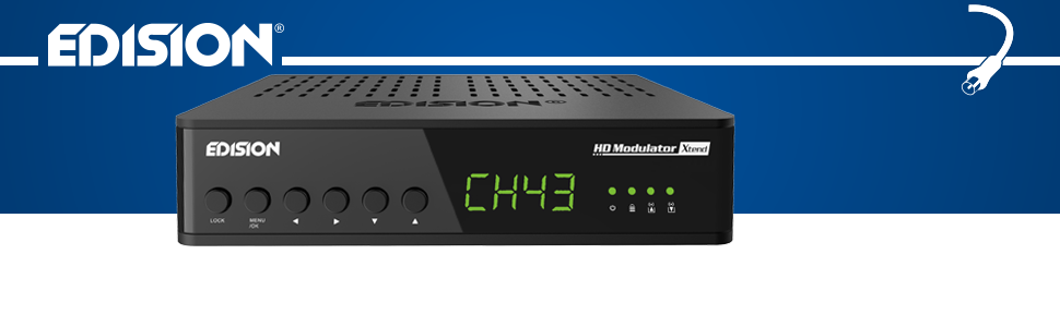 Edision Hdmi Modulator Xtend Hdmi Auf Dvb T Hdmi Elektronik