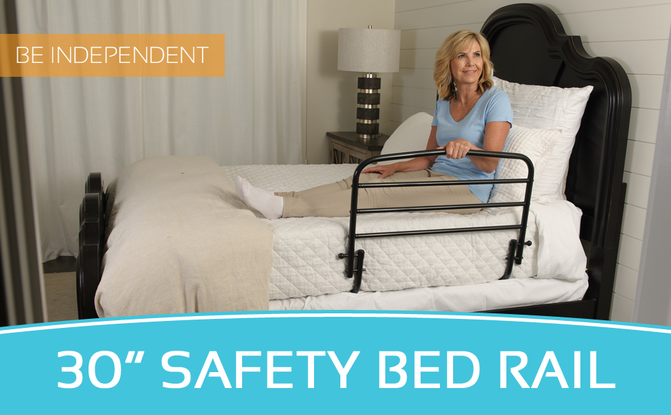 Stander 30 Inch Safety Adult Bed Rail Home Elderly