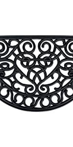 iron welcome mat, welcome mat, rubber welcome mat, wrought iron,