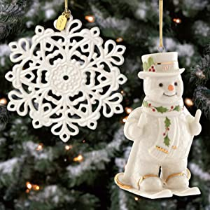 Lenox Christmas Ornaments