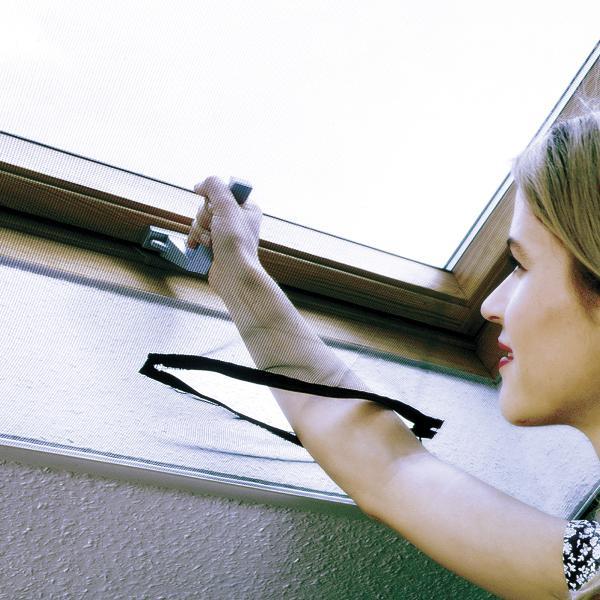 Fliegengitter Mit Reißverschluss : schellenberg 50329 fliegengitter mit rei verschluss perfekter insektenschutz f r dachfenster ~ Orissabook.com Haus und Dekorationen