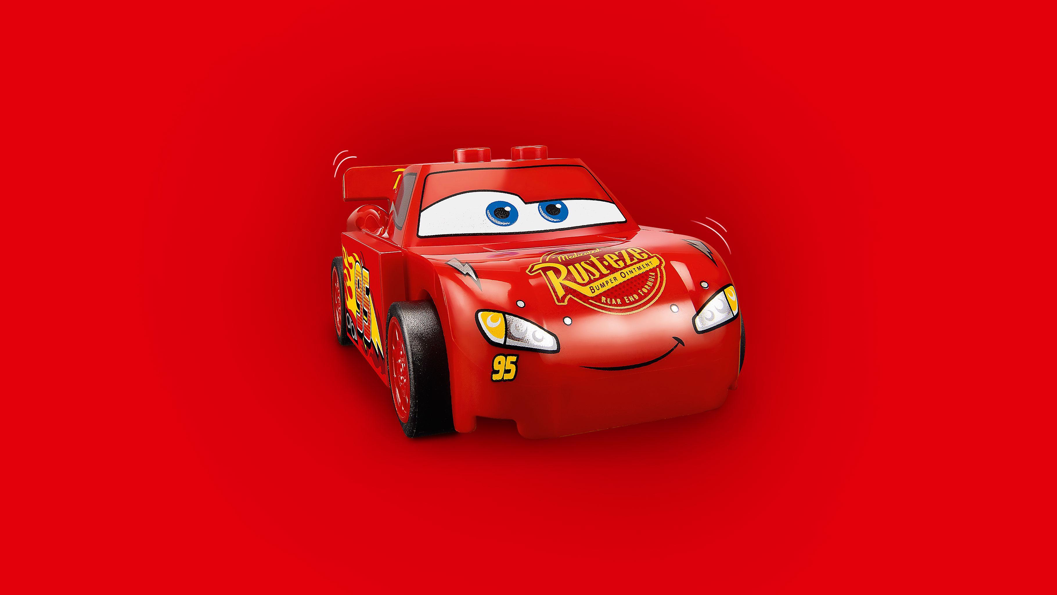 LEGO Juniors - Lanzador de Rayo McQueen (10730): Amazon.es