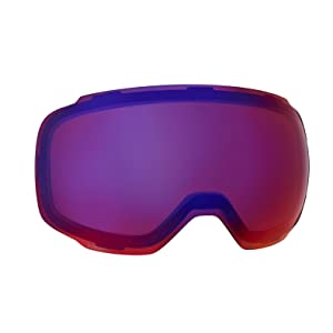snowboard goggle lens replacement technology clairt comfort visible