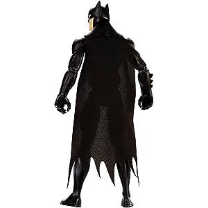 FPC62 30cm Batman Steel Suit Figure JUSTICE LEAGUE Mattel Action