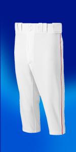 Premier Piped Short Baseball Pants