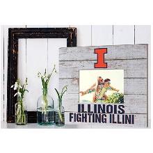 Illinois Fighting Illini Team Spirit Slat Frame