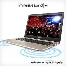 ASUS VivoBook Pro 15 FHD Touch Laptop, Intel Core i7, GTX 1050 4GB, 16GB RAM, 512GB SSD, Fingerprint