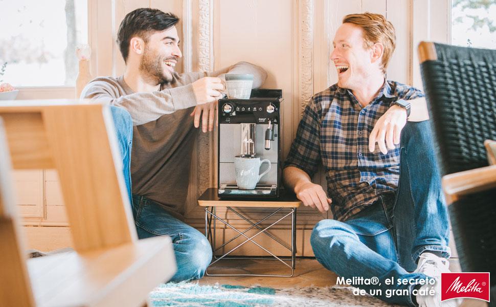 Melitta Avanza F270-100, Cafetera Automática con Molinillo Silencioso, Sistema de Leche, Depósitos XL, Limpieza Automática, Personalizable, Titanio: Amazon.es: Hogar