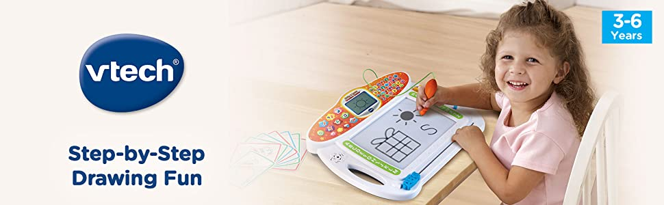 Step-by-step drawing toy for creative learners