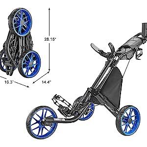 golf cart pushcart