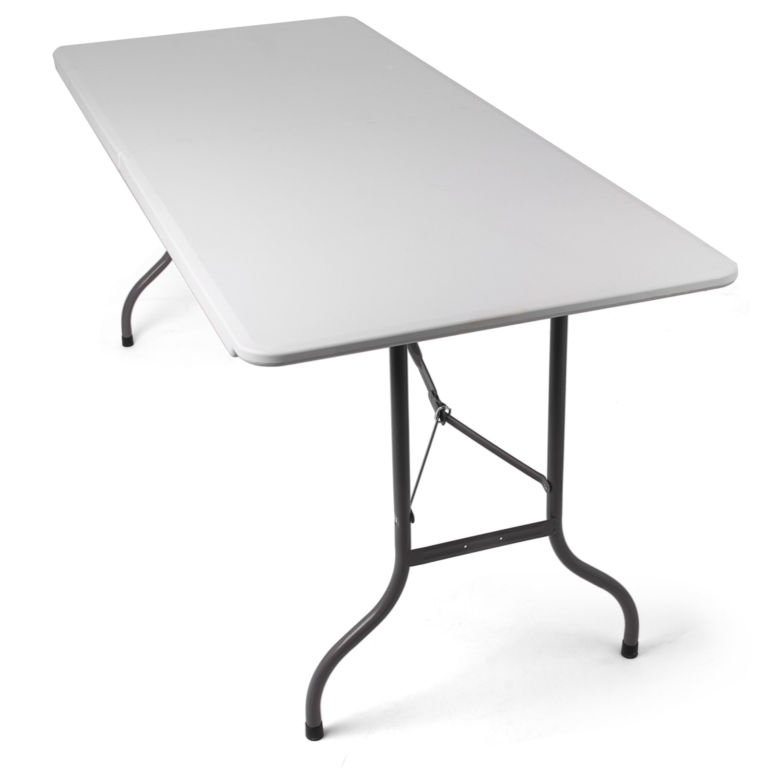Tavolo pieghevole da giardino bianco perfetto come tavolo for Tavolo giardino