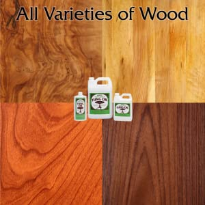 100% Pure Tung Oil, Wood Finish, low gloss finish, wood stain, pure tung oil, water resistant