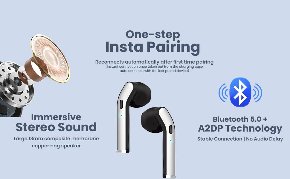 Wireless Headphones Earbud