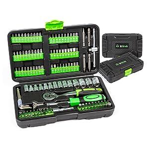 Maletín de herramientas T-LoVendo - 130 piezas