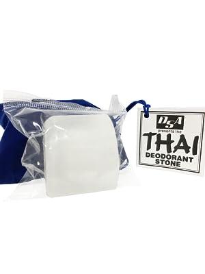 thai natural crystal deodorant stone rock salt aluminum cancer safe