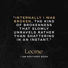 I am restored, Lecrae, religion, faith, GRAMMY, hip-hop, abuse, trauma, addiction, depression
