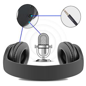 Studio Headphones with Mic
