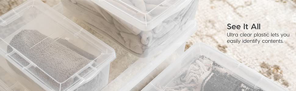 clear storage bins with lids, shoe boxes clear plastic, plastic storage box, iris storage containers