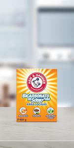 Bicarbonato de sodio para cocinar, cook, bcarbonato puro, pureza profunda, para salsa, arm and hamme