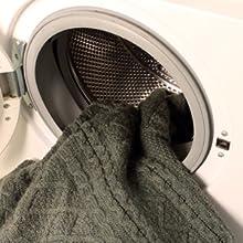 Zapatillas de estar por casa de fieltro de lana virgen, lavables en la lavadora