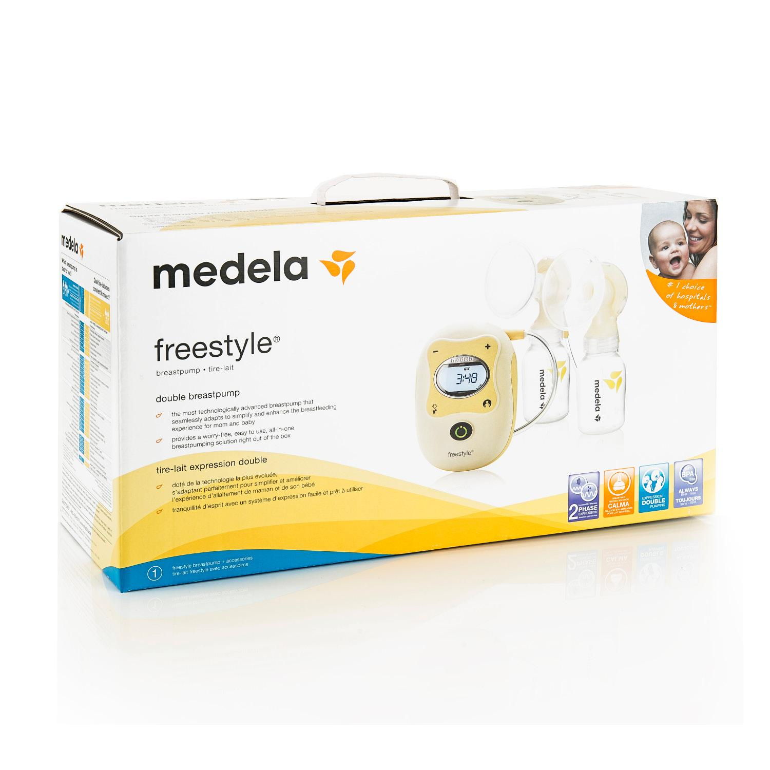 medela freestyle breast pump manual