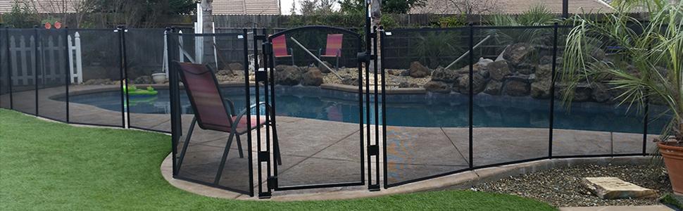 Amazon Com Classic Guard Swimming Pool Fence Child