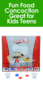 Fairly Odd Novelties HT-10006 Food'OH Family Fun Food Concoction Great for Kids Teens Adults Game N