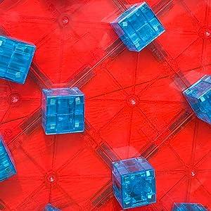 Magna-Qubix Building Blocks Hexagonal Prism