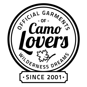 Stamp of approval displaying Wilderness Dreams is the official garments of camo lovers since 2001.